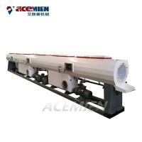 Buy cheap PVC UPVC CPVC Plastic Pipe Extrusion Line Conical Double Screw Auto Loader product