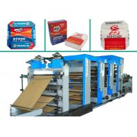 Buy cheap 4 Colors Printing Multiwall Paper Bags Making Machine PLC Control Paper Bag Machinery product