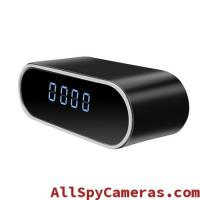 Buy cheap 720P IR 12pcs Night Vision Light WIFI HD Hidden clock spy camera for android and IOS product