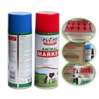 Buy cheap Long Lasting Animal Marking Spray Paint 2 Years Shelf Life For Pigs Cows Horse Sheep product