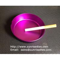 Buy cheap Multi-colored anodised aluminum smoking ashtray wholesale, China metal gift factory, product