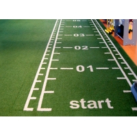 Buy cheap Functional Marked Numbers UV Resistant Gym Artificial Grass product