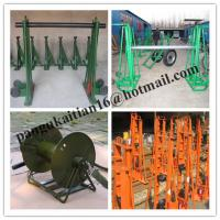 Buy cheap Made Of Cast Iron,Ground-Cable Laying,Cable drum trestles,Cable Drum Jacks product