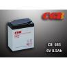 Quality 6V 8.5AH CB685 VRLA AGM Battery , Black Retardant Medical Equipment Battery for sale