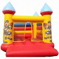Buy cheap Inflatable Jumping Castle, Made of Mesh-reinforced PVC Fabric from wholesalers