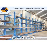 Buy cheap 1000 - 3000 Kg Single Sided Cantilever Rack from wholesalers