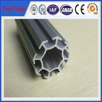 Buy cheap 6063 t5 aluminum profile for exhibition booth, easy to assemble aluminium tubes product
