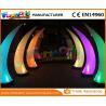 Buy cheap PVC Coated Nylon / PVC Tarpaulin Inflatable Lighting Decoration Cone For Backyard product