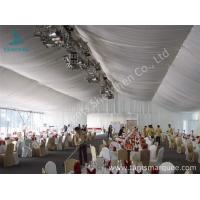 Buy cheap 20m Width Outdoor Event Tents , Full Decorations Large Tents For Outdoor Events product