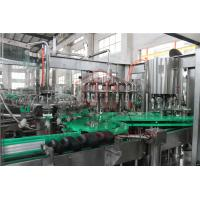 Buy cheap PLC Control Electric Driven Glass Bottle Filling Machine With Highly Speed product