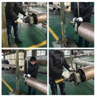 Buy cheap Straight Type Electric Pipe Beveling Machine Clamping Range ID 80 - 240mm product