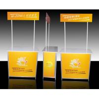 Buy cheap Aluminum Promotional Display Counter High Resolution Digital Printing product