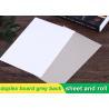 Buy cheap 250g white duplex board Grey Back Duplex Board Paper For Printing Box product