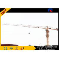 Buy cheap 1.3t Tip Load Building Construction Machine , Flat Top Tower 40m Free Standing Height product
