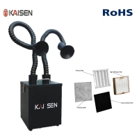 Buy cheap Salon 260m³/H Suction Arm Soldering Fume Extractor product