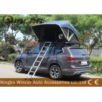 Buy cheap Manually Car Top Roof Rack Tent Open In One Side Aluminum Frame For Suv product