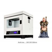 Buy cheap Large Format 3d Printer Home Use / 3d Printer Abs Filament Metal Structure , DC 110-230v product