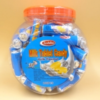 Buy cheap Round Ring Roll Handmade Milk Tablet Candy 7g Alumimum Paper Packed product