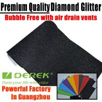 Buy cheap Brilliant Diamond Sanding Glitter Vinyl -- Sparkle Wrap Black product