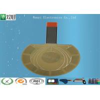 Buy cheap 0.125mm PET Based Capacitive Touch Circuit High Sensitivity And Density product