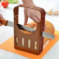 Buy cheap ECO Friendly Kitchen Baking Tools Plastic bread Slicer Adjustable With FDA product