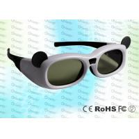 Buy cheap Micro USB rechargeable Child style Japanese 3D TV IR Active Shutter 3D Glasses product