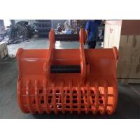 Buy cheap Long Durability Hardox 450 Excavator Screening Bucket / Skeleton Bucket from wholesalers