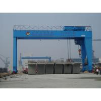 Quality MG A Double Girder Electric Overhead Gantry Crane with Hook For Metallurgical Enterprises for sale