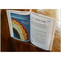Buy cheap Light Weight Acrylic Menu Holder , Clear Acrylic Cookbook Holder With No Toxicity product