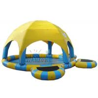 Buy cheap Three - Layer PVC Large Inflatable Swimming Pool Non Toxic For Water Parks from wholesalers