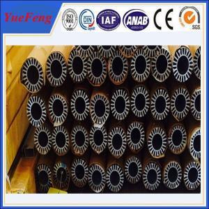 Buy cheap Hot! aluminium radiator heatsink supplier, round shape hollow aluminium heatsinks supplier product