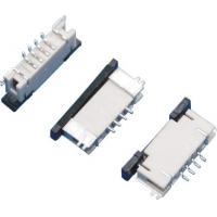 Buy 1.0mm Pitch FPC Connector 4Pins Board to Board Connector Under Lock SMT Type at wholesale prices