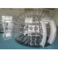 Buy cheap Outdoor Camping Party Activity Clear PVC Inflatable Transparent Dome Tent With Doors product