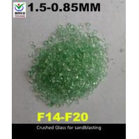 Buy cheap 1-3mm Recycled Bottle Glass Blasting Media , Recycled Glass Grit SGS Approved product