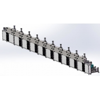 Buy cheap Continuous PVD metal coatings production line for Fiber-Optic Cables product