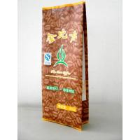 Buy cheap 100 Micron PET / AL / PE Coffee / Tea Foil Bag Packaging with CMRK / Pantone Printing product