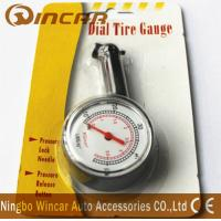 Buy cheap Plastic Body Digital Tire Air Pressure Gauge , Tire Gauge With Blister Card product