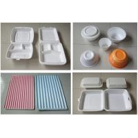 Buy cheap 60Hz Food Box Machine / EPS Foam Clamshell Take Away Containers Production Line product