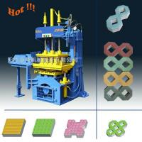 Buy cheap QTY2-20 Manual Operated Fly ash Paving Brick Block Making Machine For Small Business product