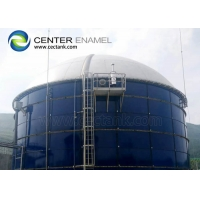 Buy cheap Bolted Steel Waste Water Storage Tanks In Municipal Wastewater Treatment Project product
