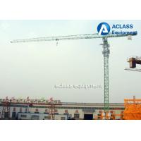 Buy cheap 5 ton Topless Tower Crane 50m Jib Overhead Crane with Wire Rope Limit switch product