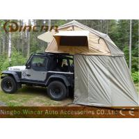 Buy cheap Truck Soft Car Top Tent Outdoor Waterproof 260g / 280g Canvas Material For Camping product