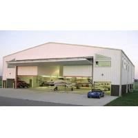 Quality Customized Prefabricated Steel Aircraft Hangars With Labour Saving for sale
