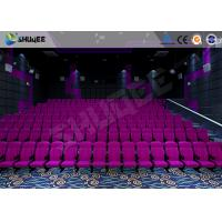 Buy cheap Sound Vibration Cinema 3D Movie Theater System With Shock Effects Seats product