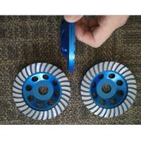 Buy cheap 5inch 125mm Turbo Cup Wheel , 5 Diamond Grinding Disc For Concrete product