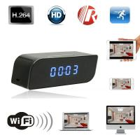 Quality T8S 720P Alarm Clock WIFI P2P IP Spy Hidden Camera Home Security CCTV Surveillan for sale