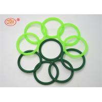 Buy cheap Fluorine Rubber Seals O Ring Heat Resistant , Green O Rings For Aircraft Engine from wholesalers