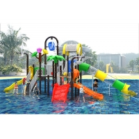 Buy cheap Kids Swimming Pool 1.5mm Outdoor Water Playground Plastic Playset product