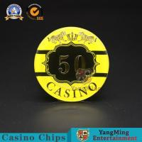 Buy cheap :Macao Casino Casino Club Competition Acrylic Hot Stamping Anti-counterfeit Chips Manufacturer Custom Chip Warehouse Spo product