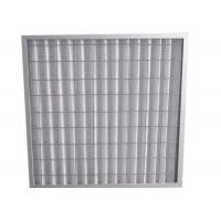 Buy cheap Indoor Residential Pleated Panel Air Filters For Clean Room , High Dust Capacity product